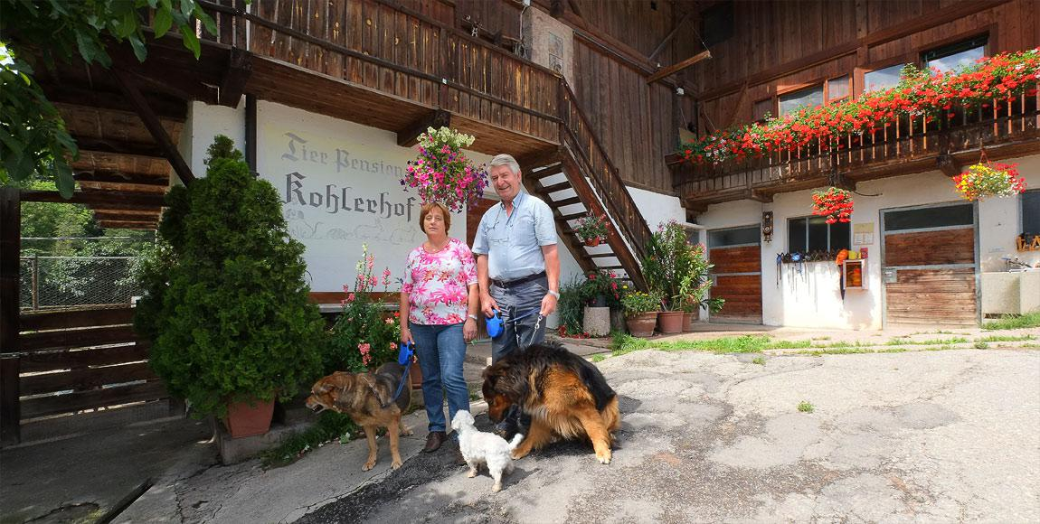 Unsere Tierpension in Afing bei Jenesien